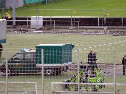 Kampfmittelräumdienst rückt beim VfB an