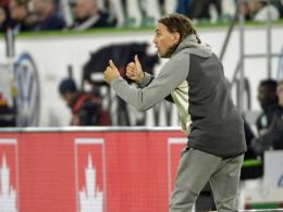 Wolfsburg: Zwei Gesichter bei Schmidts Debüt