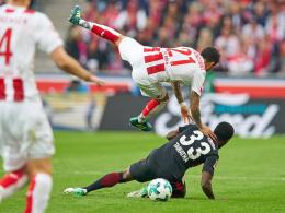 Kölner Horrortrip geht weiter: 0:1 gegen Frankfurt