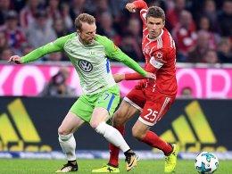 LIVE!-Bilder: Wolfsburg fordert den FC Bayern
