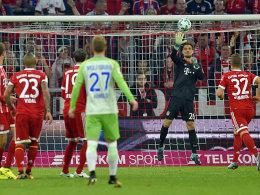 2:2 nach 0:2: Wolfsburg düpiert den FC Bayern