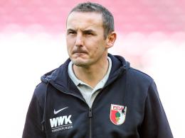 Warum der FCA Weinzierls Assistenten zurückholte