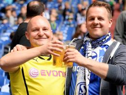 Freundschaftsspiel mit S04 und BVB - in einem Team!