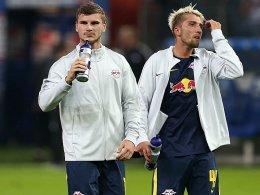 Werner und Kampl wackeln: Hasenhüttl muss improvisieren