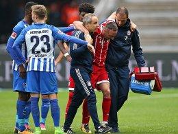 Verdacht auf Bänderverletzung: Sorgen um Ribery