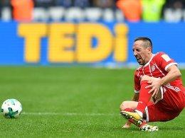 Bayern müssen monatelang auf Ribery verzichten