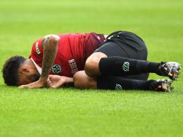 Hinrunden-Aus: Hannover muss auf Felipe verzichten