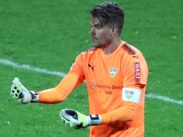 VfB-Ersatzkeeper Meyer bewährt sich und erntet Lob