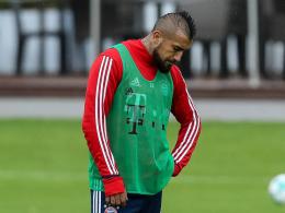 Vidal muss Training abbrechen - Müllers Erinnerungen