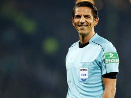 Schiedsrichter Aytekin pfeift BVB gegen Leipzig