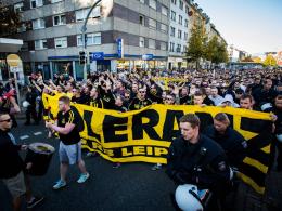 BVB-Protestmarsch gegen RB Leipzig