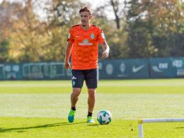 Geduld gefragt: Kruse ist bei Werder zurück im Training