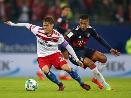 Bayern zieht durch 1:0 beim HSV mit BVB gleich