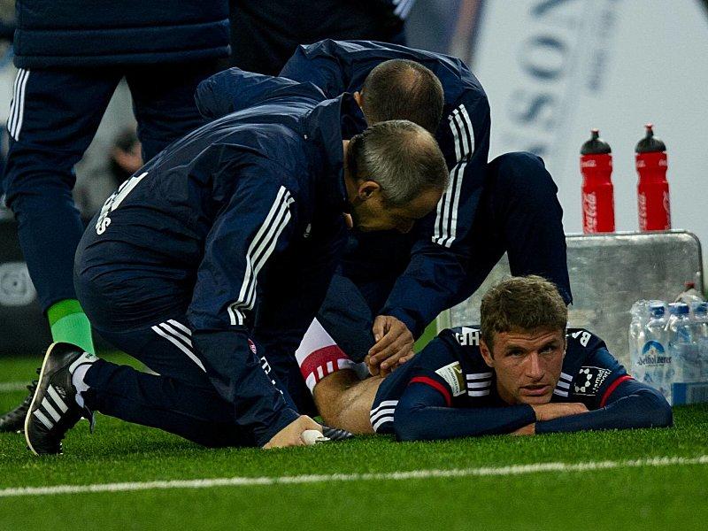 Muskelfaserriss! | Müller fehlt Bayern für drei Wochen