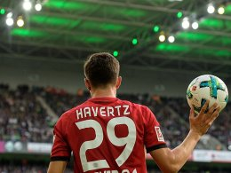 Top-Elf: Havertz führt ein Leverkusen-Trio an