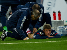 Muskelfaserriss: Müller fällt drei Wochen aus