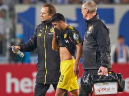 BVB vermeldet: Dahoud nicht schlimmer verletzt