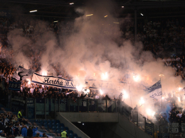 Pyro-Skandal: 100.000 Euro Geldstrafe für Hertha
