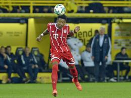 Alaba: Gegen Augsburg wieder dabei
