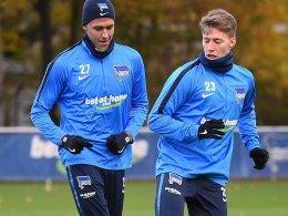 Weiser zurück im Hertha-Training