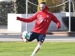 Ribery schon wieder im Mannschaftstraining