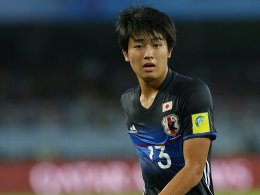 Japan-Talent Nakamura im Probetraining beim VfB