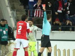 Nach Rot gegen Köln: Ein Spiel Sperre für Donati