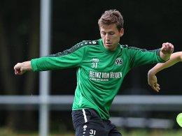 Hannover: Anton bricht Training ab