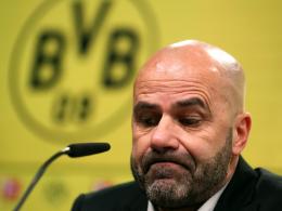 Borussia Dortmund trennt sich von Trainer Bosz