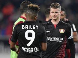 Top-Elf mit Leverkusen-Trio und fünf Debütanten