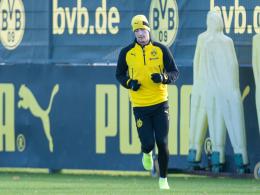 Reus trainiert wieder mit Ball