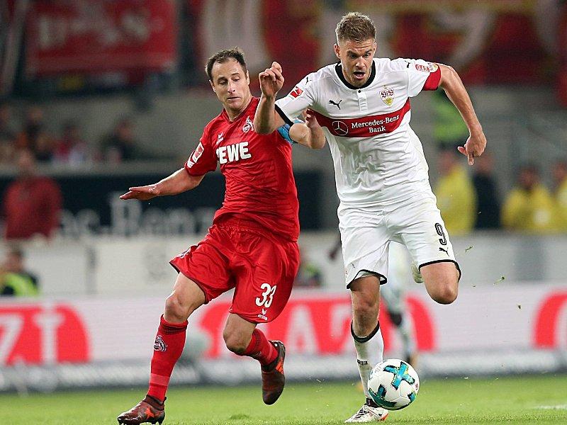Medien: VfB-Stürmer Terodde vor Wechsel zum 1. FC Köln
