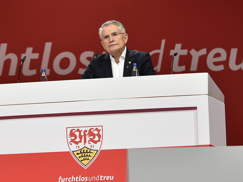 Wolfang Dietrichs seltsame Weihnachtsbotschaft - Präsident des VfB ...
