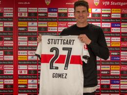 Gomez unterschreibt - und bekommt die 27