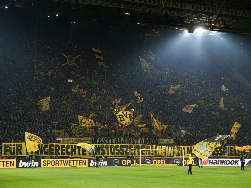 Borussia Dortmund: BVB-Fans boykottieren Montagsspiel gegen Augsburg