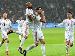 FC Bayern gewinnt Rückrunden-Auftakt in Leverkusen