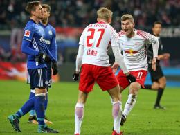 3:1! Leipzig zieht an Schalke vorbei