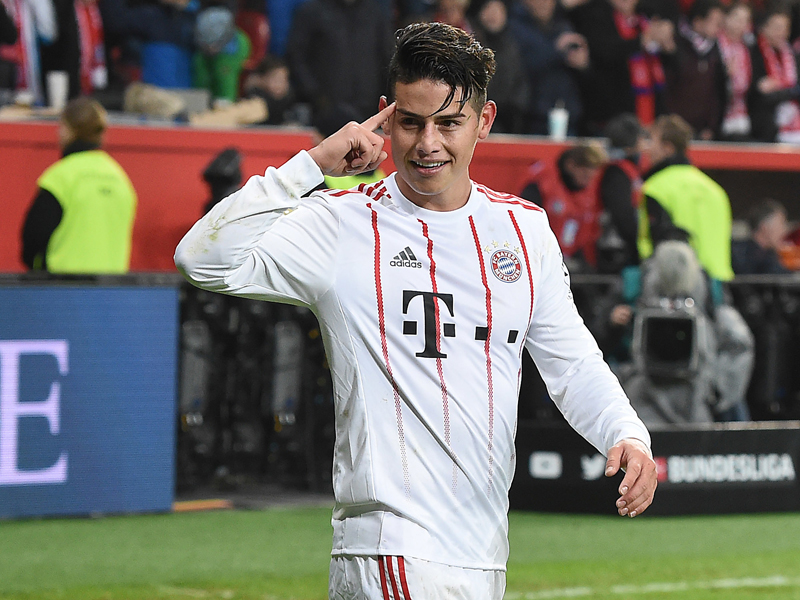 Bayerns neue qualit t wie james 39 fu das m nchner for Fuss bundesliga