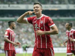 Mehr Tore als Werder: Lewandowski kehrt zurück
