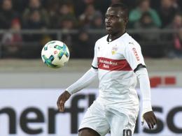 Wegen Übermittlungsfehler: Akolo fehlt VfB kurzfristig
