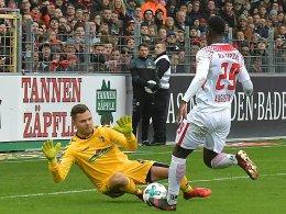 Goalie Gikiewicz: Belohnung nach 535 Tagen