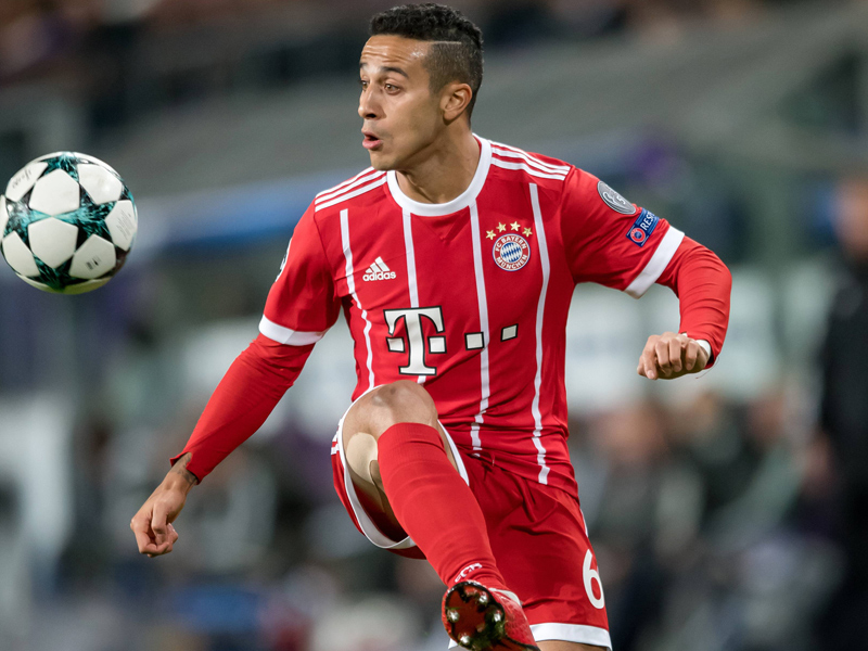 Bayern mit Thiago gegen Wolfsburg