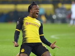 Doppelpack Batshuayi: Borussia Dortmund siegt spät gegen Bergamo