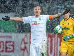 Leider vereist: Werder steckt in Freiburg fest