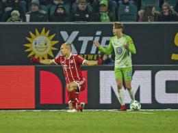 Nach Elfmeter: Robbens Ratschläge für Itter