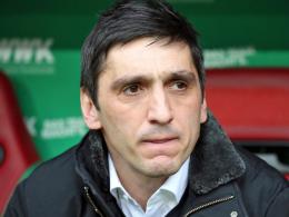 Stuttgarts Coach Korkut warnt vor Euphorie