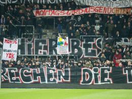 Fanproteste: Frankfurt muss vorerst keine Strafe befürchten