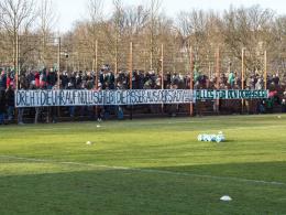 Werder lässt Fan-Banner entfernen
