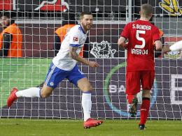 Verdienter Sieg: Schalke überfügelt Leverkusen