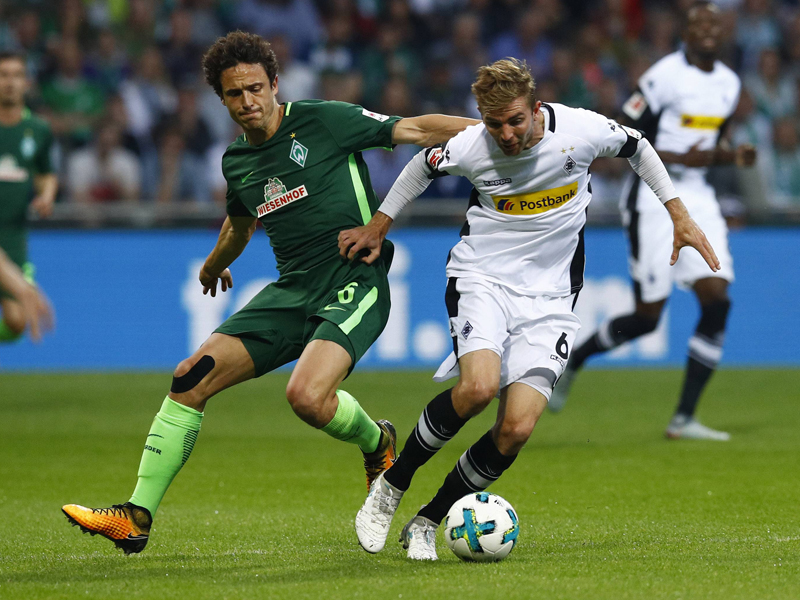 Christoph Kramer gegen Thomas Delaney
